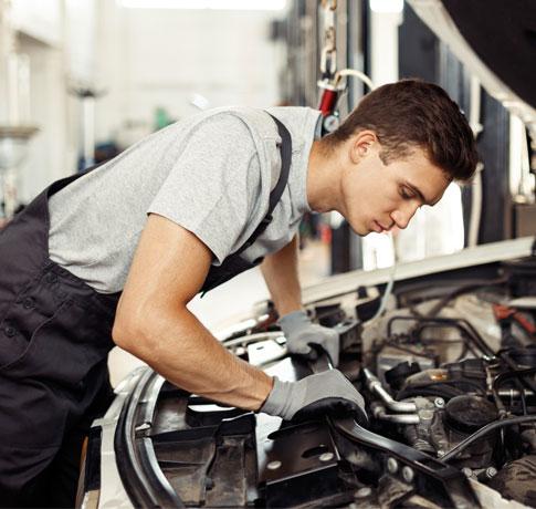 Professional car repair